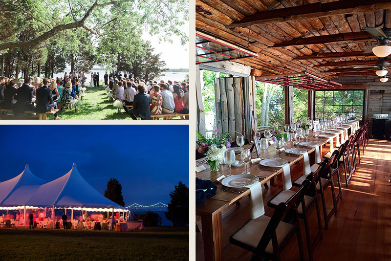 Weddings at cove cabin mount hope farm bristol rhode island a cove cabin wedding junglespirit Image collections